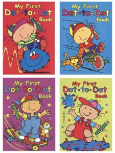 A4 Dot To Dot Book 4 Titles