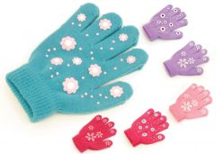 Girls Magic Gripper Gloves