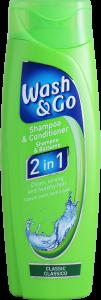Wash & Go 2 in 1 Shampoo & Conditioner Classic 200ml
