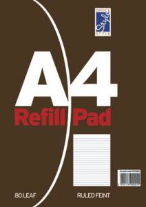 Office Style Refill Pad 80 Sheets Feint