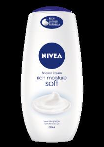 Nivea Shower Rich Moisture Soft 250ml
