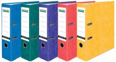 Eastlight Lever Arch A4 File Laminated Assorted Colours