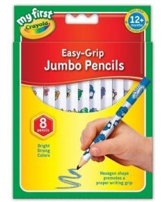 Crayola My First Jumbo Decorated Pencils 8's Hang Pack