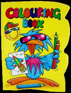 A4 Colouring Book 4 Titles