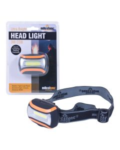 Milestone Camping Ultra Bright Headlight 3W
