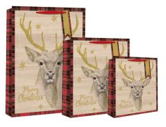 Gift Bag Large Stags Head