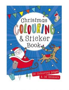 Christmas Colouring & Sticker Book