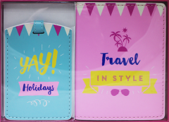 Yay! Passport Holder & Luggage Tag