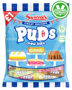 Swizzels Great British Puds £ PMP 135g