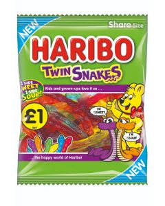 Haribo Twin Snakes £ PMP 160g