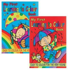 A4 My First Colouring Book 2 Titles