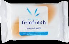Femfresh Wipes 15's