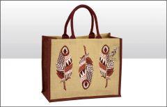 Jute Bag - Feather