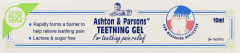 Ashton & Parsons Teething Gel 10ml