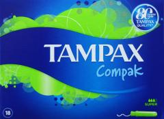 Tampax Compak Super 18's