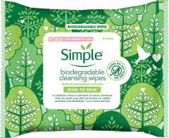 Simple Biodegradable Wipes 20's