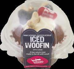 The Barking Bakery Iced Vanilla Woofin