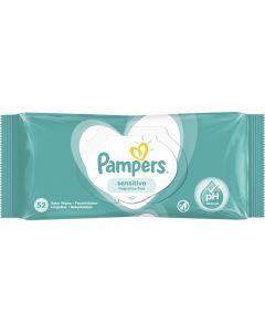 Pampers Sensitive Baby Wipes 52's