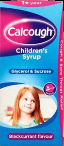 Calcough Children Blackcurrant 125ml