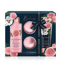 Baylis & Harding Boudoire Rose 4 Piece Set