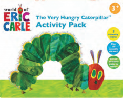 Wholesale Activity Pack, The Very Hungry Caterpillar, Pk12