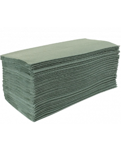 Paper Hand Towels - 23x31cm 1ply Green 192's
