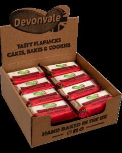 Devonvale Luxury Oat Flapjacks - Cherry Bakewell 95g