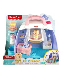Fisher Price Little People Babies Cuddle n Play Nursery Playsets