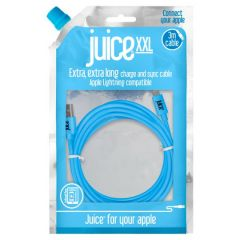 Juice Cable Lightning 3m Round Aqua