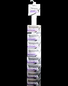 Strepsils Triple Action Blackcurrant Lozenges 24's Clip Strip