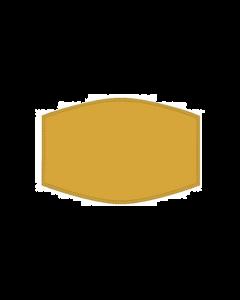 Adult Face Mask - Yellow Plain