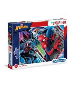 Clementoni Spiderman 60 Piece Jigsaw Puzzle