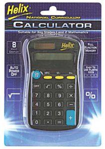 Helix 8 Digit Calculator