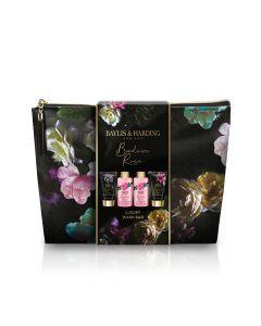 Baylis & Harding Boudoire Rose Toiletry Bag Gift Set 2021