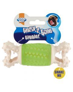 Good Boy Gnaw-a-Bone Giggler Dog Toy 17cm