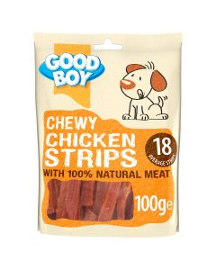 Good Boy Chewy Chicken Strips 100g CDU