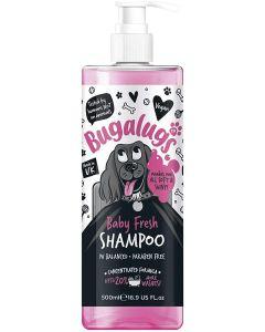 Bugalugs Dog Shampoo Baby Fresh Pump 500ml