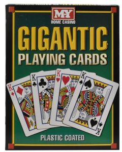 M.Y Giant Playing Cards A4 Size