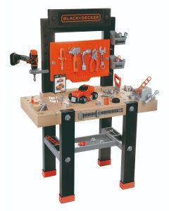 Smoby Black & Decker Kids Workbench With Accessories