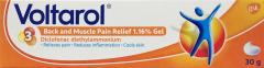 Voltarol Back & Muscle Pain Relief 1.16% Gel 30g