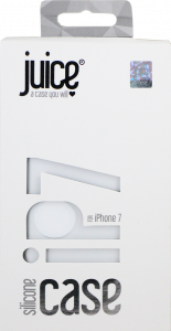 Juice iPhone 7 Silicone Phone Case - White
