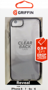 Griffin Reveal Case For iPhone 8, 7, 6S & 6 Clear