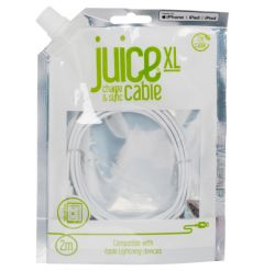 Juice XL Lightning Cable 2m White