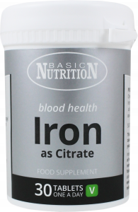 Basic Nutrition Iron Tablets 14mg 30's