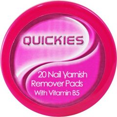Quickies Nail Varnish Remover Pads 20's