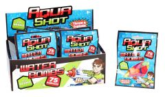 Aqua Shot - 75 Water Bombs With Nozzle in CDU