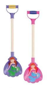 Spade - Mermaid Spade Wooden Shaft - 49cm - Assorted Colours