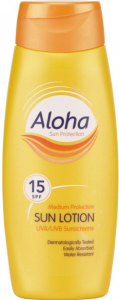 Aloha Sun Lotion SPF 15 250ml