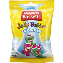 Maynards Bassetts Jelly Snowmen 165g Exp 19.06.2021